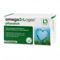 Omega 3-Loges pflanzlich Kapseln