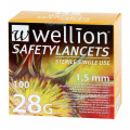 Wellion SafetyLancets 28 G
