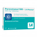 Paracetamol 500 - 1 A Pharma Tabletten
