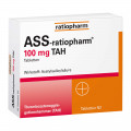 ASS-ratiopharm 100 mg TAH