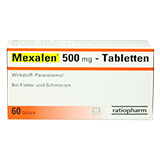 Mexalen 500mg Tabletten 60 St