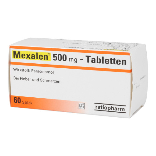 Mexalen 500mg Tabletten
